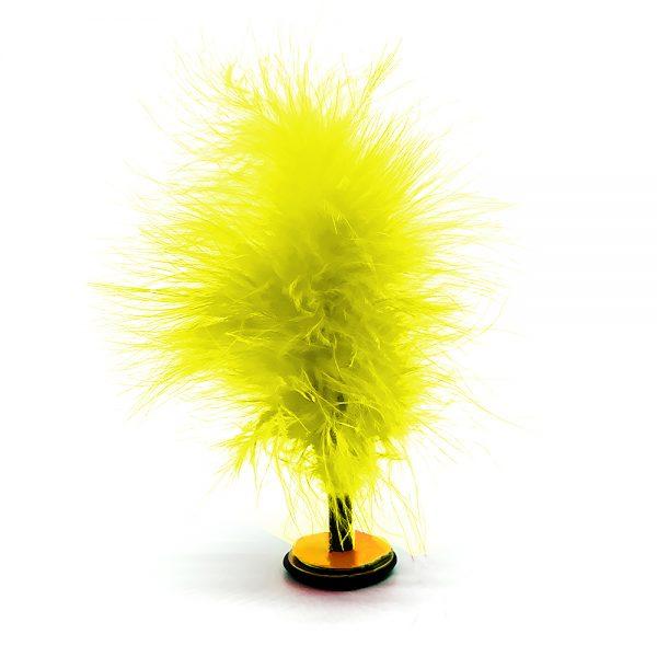 federfußball artistik gelb